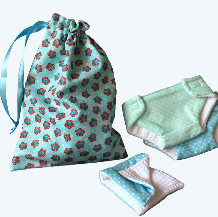 Baby Doll Diapers Changing Set