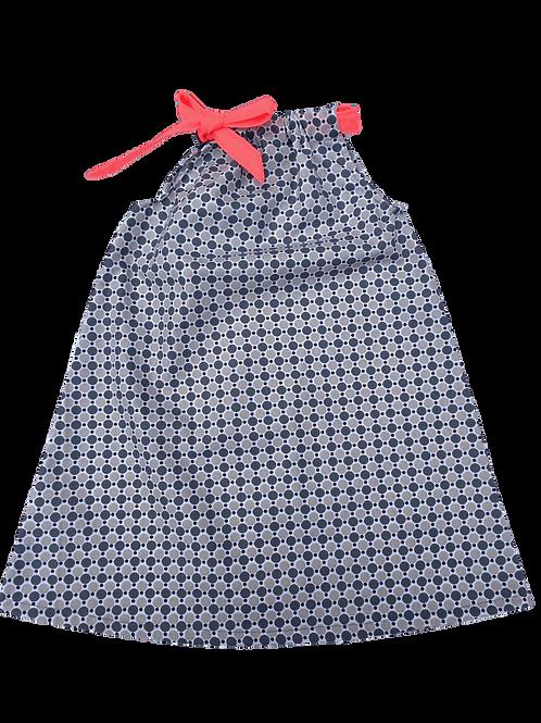 Robe Lola (macarons gris)
