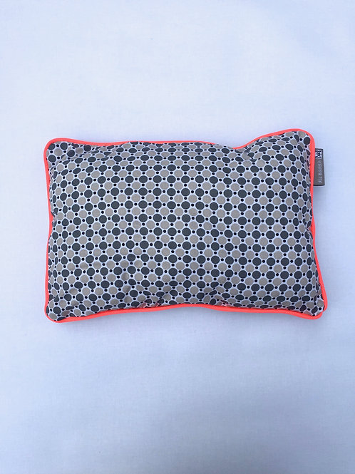 Coussin personnalisable (grey/fluo)