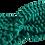 Thumbnail: Bandeau épais en laine  (vert)