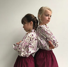 Vêtements pour fille fait main