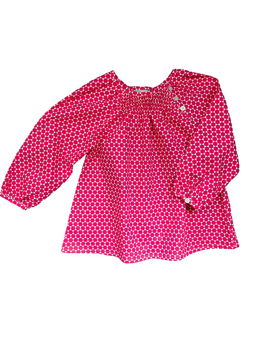 Blouse Manon (rose Hollywood)