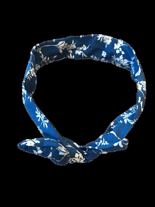 Bandeau magique (fleuri bleu)