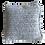 Thumbnail: Coussin en crochet (gris argent)