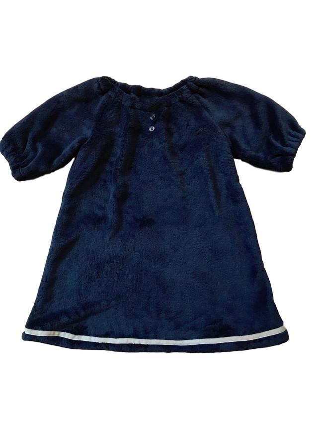 Poppy Peasant dress fleece