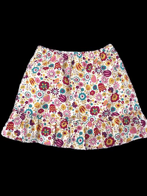 Jupe Lucie (fleuri multicolore)