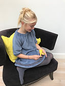 Faux fur vest by Lily Loop