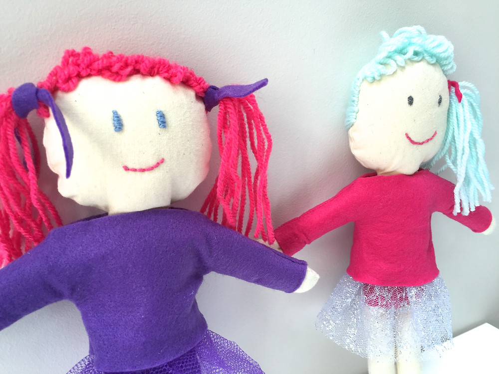 personalised rag doll by dis Badeth!