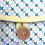 Thumbnail: Tapis à langer (blue clovers)