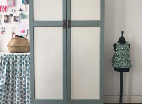 Le makeover de l'armoire à vêtements de l'atelier My LILY LOOP