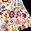 Thumbnail: Jupe Lucie (fleuri multicolore)