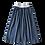Thumbnail: Jupe longue Angèle (bleu Fidji)