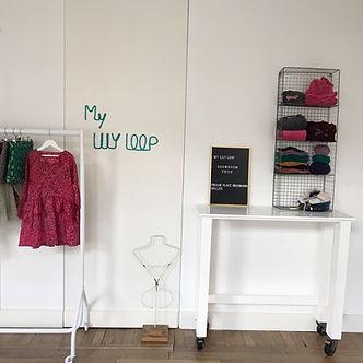 Showroom My LILY LOOP Ixelles