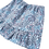 Thumbnail: Jupe Lucie (fleuri bleu)