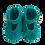 Thumbnail: Chaussons Mary Jane 3/6M (vert pin)