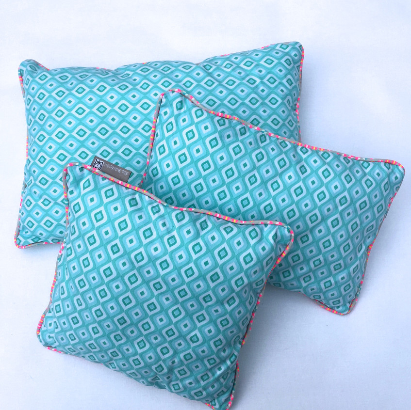 Pretty cushion by Lily Loop