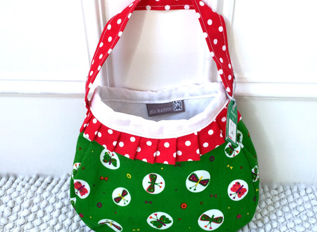 A pretty handbag for a pretty little girl