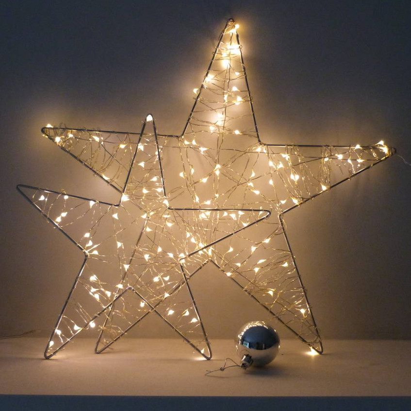 Lattice fairy light star