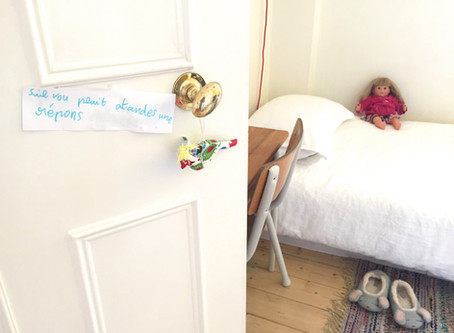 Come into my room - Lily, 6 years old