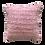 Thumbnail: Coussin en crochet (rose dragée)