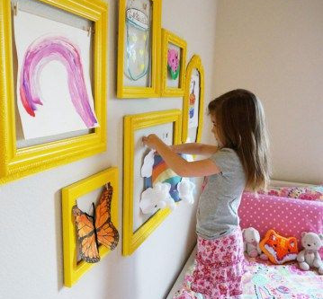 Spring inspiration for Girls' room