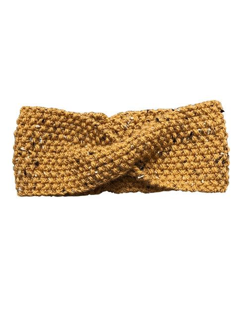 Bandeau en laine (moutarde)