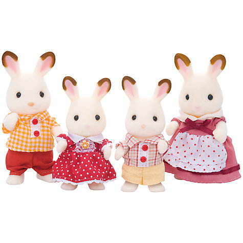 Sylvanian toy family