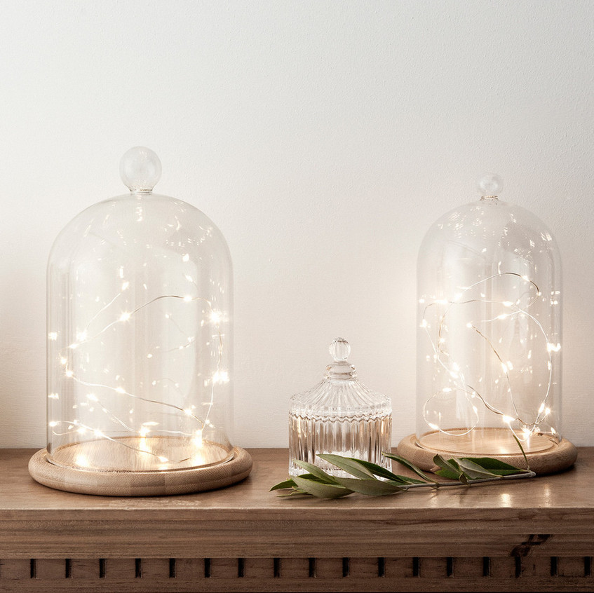lights4fun firefly bell jar
