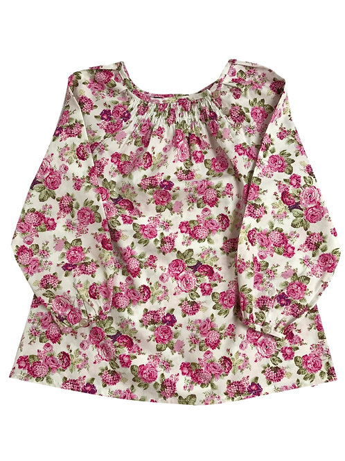 Blouse Manon (roses)