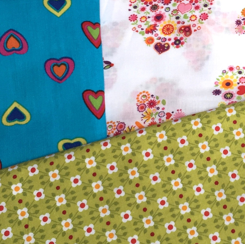 fabrics combination for bed linen