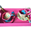 Thumbnail: Service à thé (pink tray/turquoise)