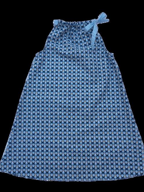 Robe Lola (macarons bleus)