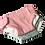Thumbnail: Set de couches pour poupée (tealblue/grey)