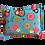 Thumbnail: Set de lit pour poupée (fuchsia dots/turquoise)