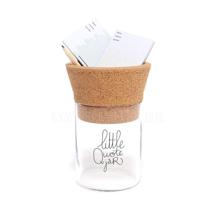 this modern life little quote jar