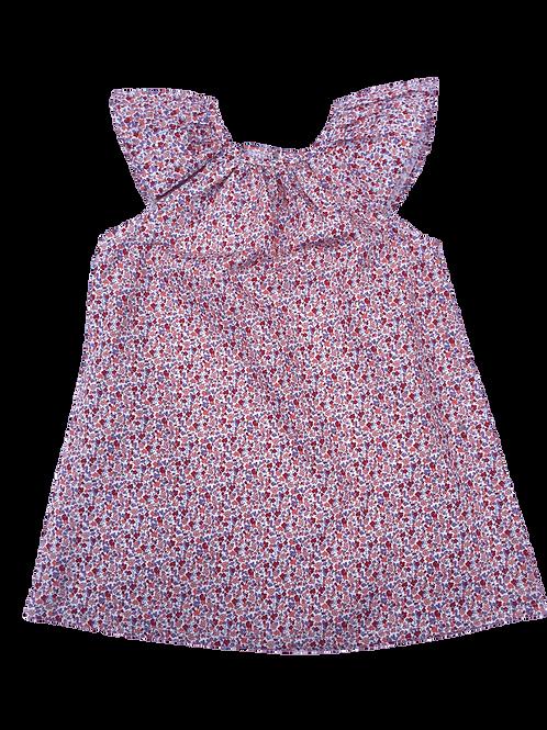 Robe Juliette (fleuri rose)