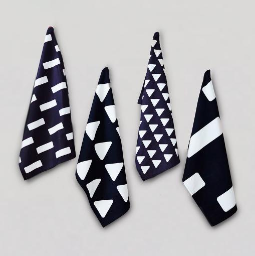 happy + co mixed coast napkins