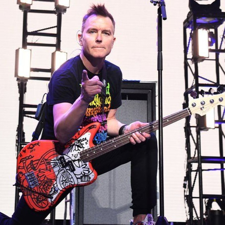 Mark Hoppus, Singer and Bassist of Blink-182, is Undergoing Chemotherapy