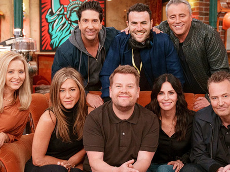 'Friends' Cast Reunites for Carpool Karaoke