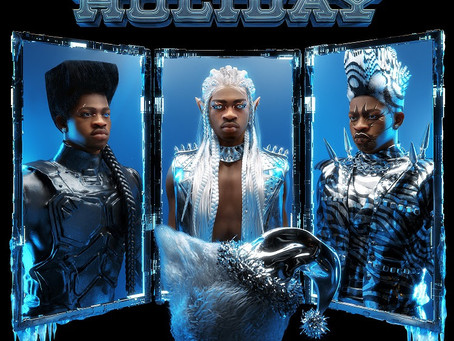 "Lil Nas X Plays Santa in New ""Holiday"" Single and Music Video"
