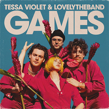 """Tessa Violet Releases """"Games"""" Featuring lovelytheband"""