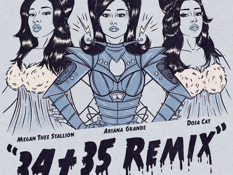 "Ariana Grande Reveals ""34 + 35"" Remix Features"