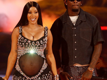 Cardi B Reveals She's Pregnant During the BET Awards