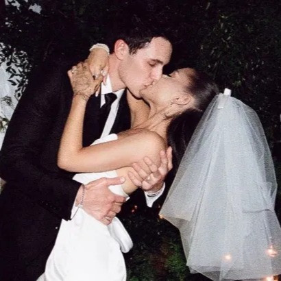 Ariana Grande Shares First Photos From Her Private Wedding