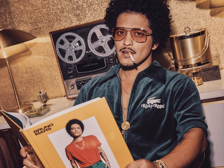 Bruno Mars Makes History as First Artist to Have 5 Diamond Certified Singles
