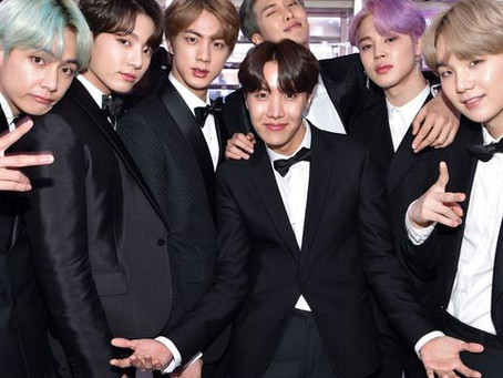 BTS Named Global Best-Selling Artists of 2020