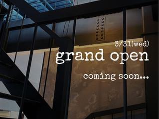 2021 3/31 GRAND OPEN!