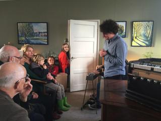 Vernissage 'oorspronkelijkheid in ons landschap' met Max Douw. zaterdag 25 November
