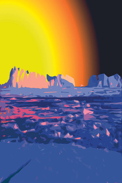 Космос Антарктиды. А.Новиков