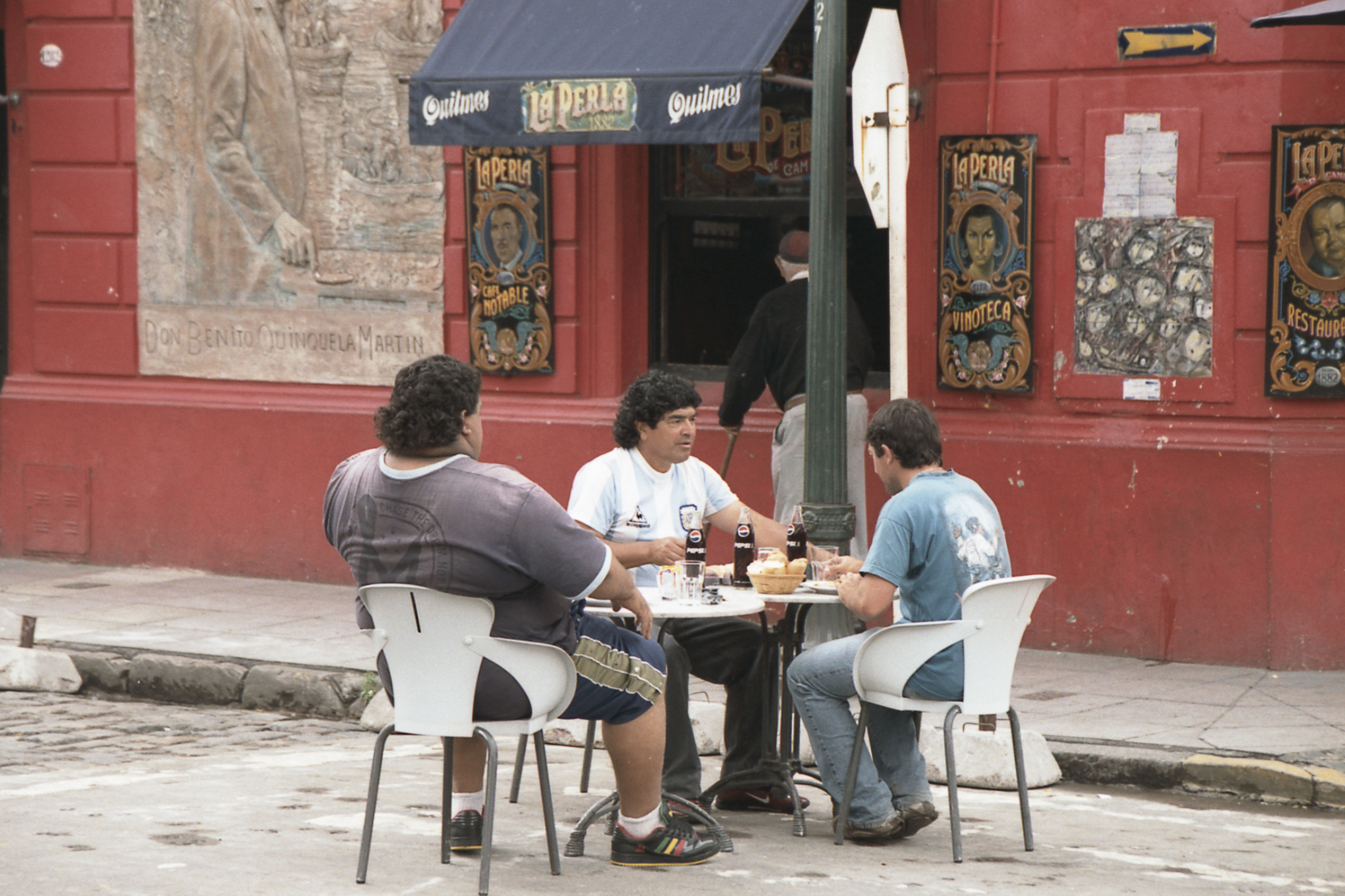 Марадона. Буэнос-Айрес. 2008